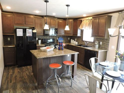 Kitchen-in-Adirondack-at-G & I Homes-Oneonta-in-Oneonta