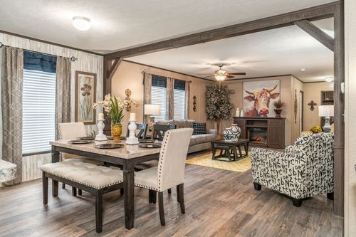 Greatroom-and-Dining-in-ABSOLUTE VALUE-at-Freedom Homes-Fort Smith-in-Fort Smith