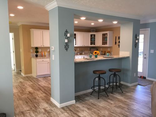 Kitchen-in-The Haven-at-Crossland Homes-Greenville-in-Greenville