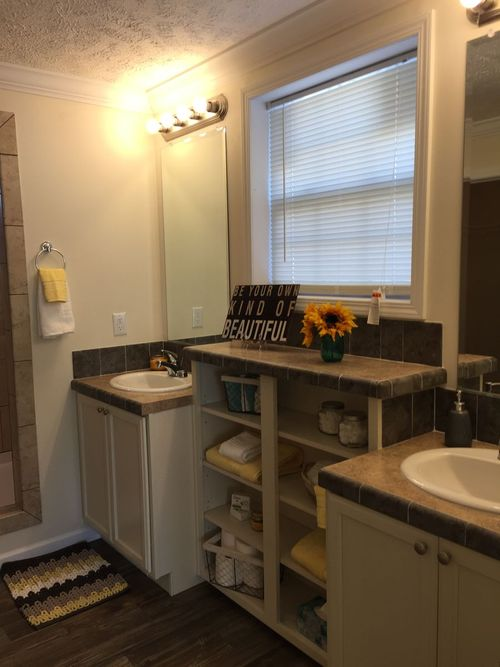 Bathroom-in-The Haven-at-Crossland Homes-Greenville-in-Greenville