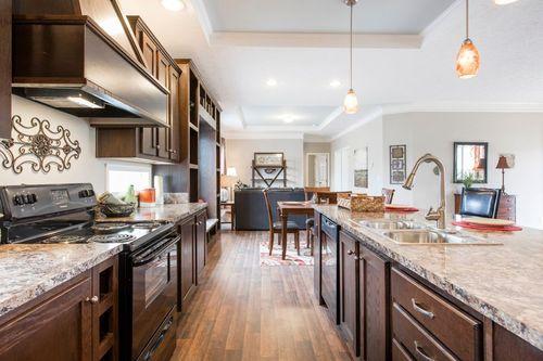 Kitchen-in-5582 SWEET CAROLINE-at-Crossland Homes-Candler-in-Candler
