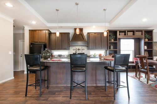 Kitchen-in-5582 SWEET CAROLINE-at-Clayton Homes-South Hill-in-La Crosse