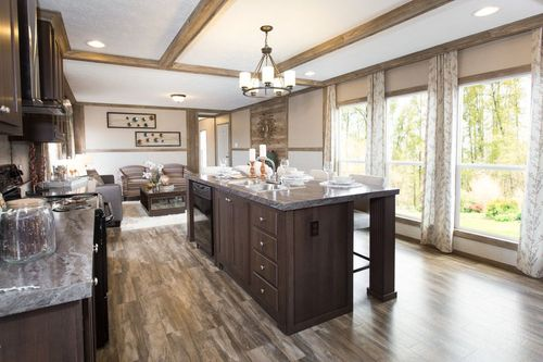 Kitchen-in-REVOLUTION 76A-at-Freedom Homes-Carencro-in-Carencro