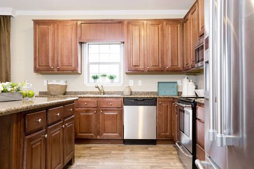 Kitchen-in-THE GREYSTONE-at-Clayton Homes-Searcy-in-Searcy