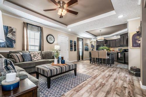 Greatroom-and-Dining-in-4054 ELITE PLUS 7616-at-Oakwood Homes-Millsboro-in-Millsboro