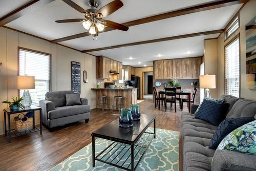 Greatroom-and-Dining-in-ANNIVERSARY 16763A-at-Clayton Homes-Abilene-in-Abilene