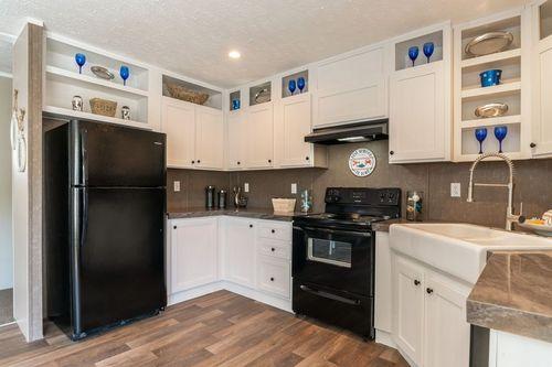 Kitchen-in-TRADITION 56C-at-Oakwood Homes-Fletcher-in-Fletcher