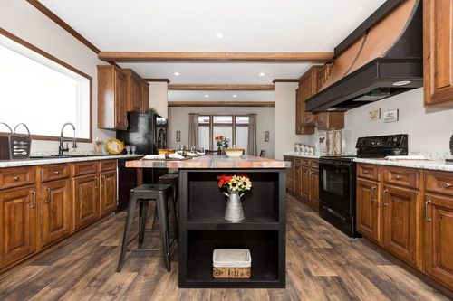 Kitchen-in-THE ABIGAIL-at-Clayton Homes-Houma-in-Houma