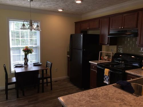 Kitchen-in-The Hampton-at-Crossland Homes-Greenville-in-Greenville