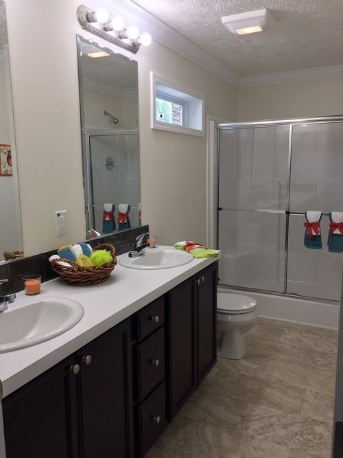 Bathroom-in-The Hampton-at-Crossland Homes-Greenville-in-Greenville
