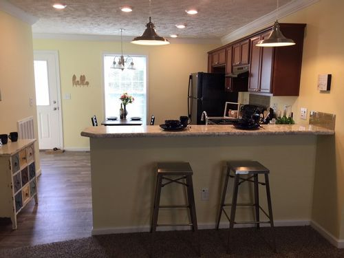 Wet-Bar-in-The Hampton-at-Crossland Homes-Greenville-in-Greenville