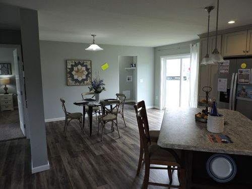 Breakfast-Room-in-Catskill Cape-at-G & I Homes-Oneonta-in-Oneonta