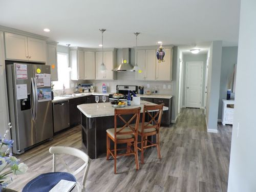 Kitchen-in-Catskill Cape-at-G & I Homes-Oneonta-in-Oneonta