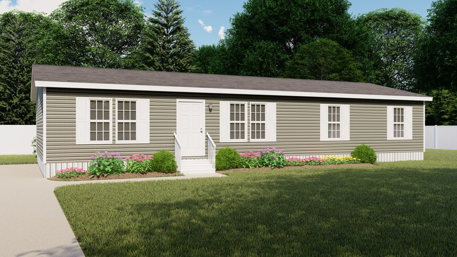 Exterior featured in the WOODBRIDGE II LIL WOODY By Clayton Homes in St. Louis, IL
