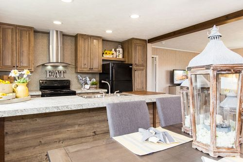 Kitchen-in-THE BREEZE II-at-Clayton Homes-Paradise-in-Paradise