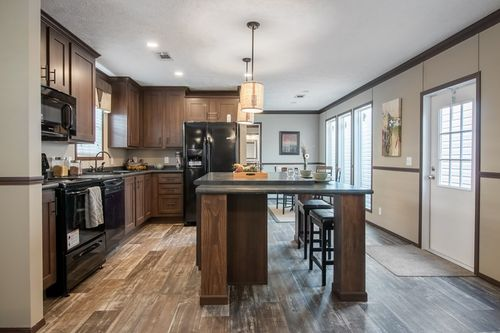 Kitchen-in-THE HARDING-at-Clayton Homes-Effingham-in-Teutopolis