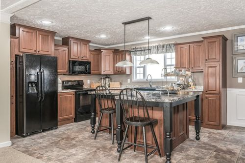 Kitchen-in-4510 ROCKETEER 7628-at-Oakwood Homes-Shelby-in-Shelby