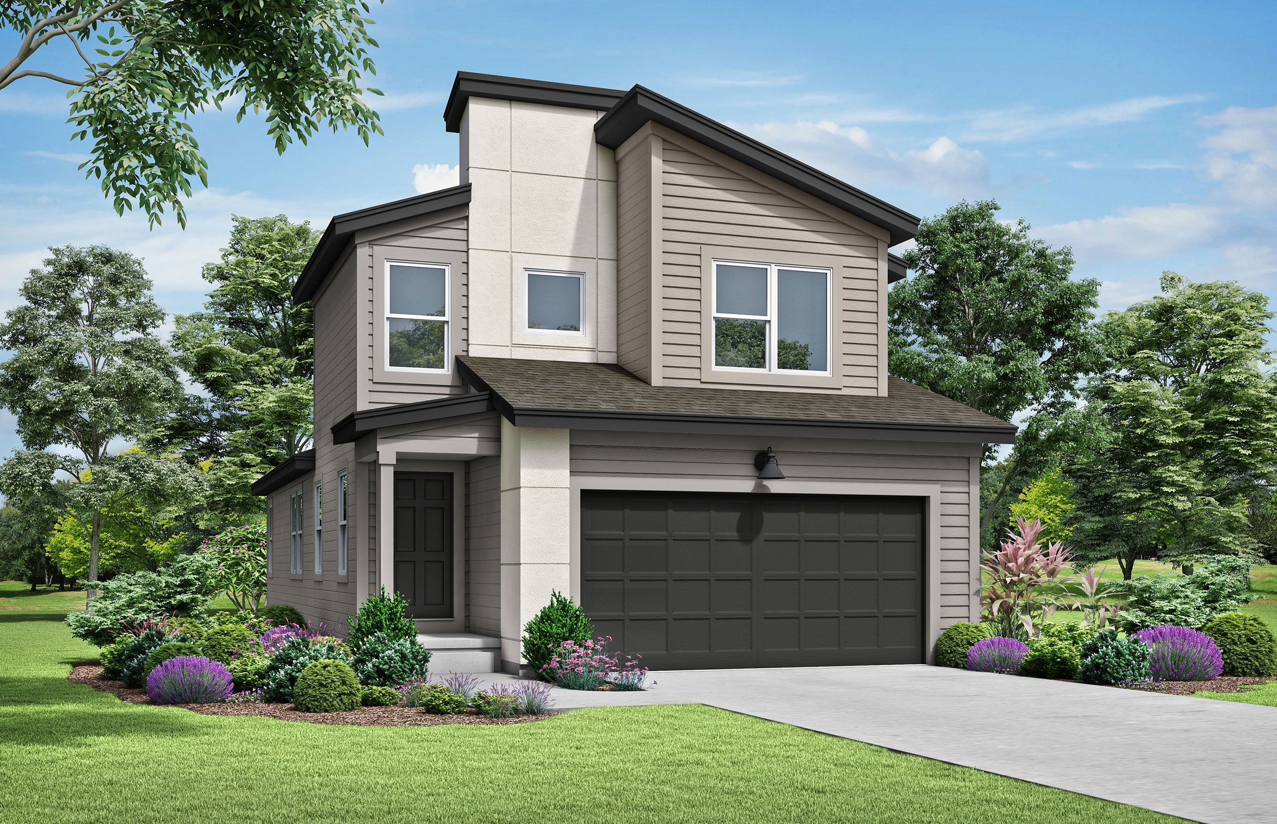 Exterior featured in the sienna-contemporary By clover & hive in Kansas City, MO