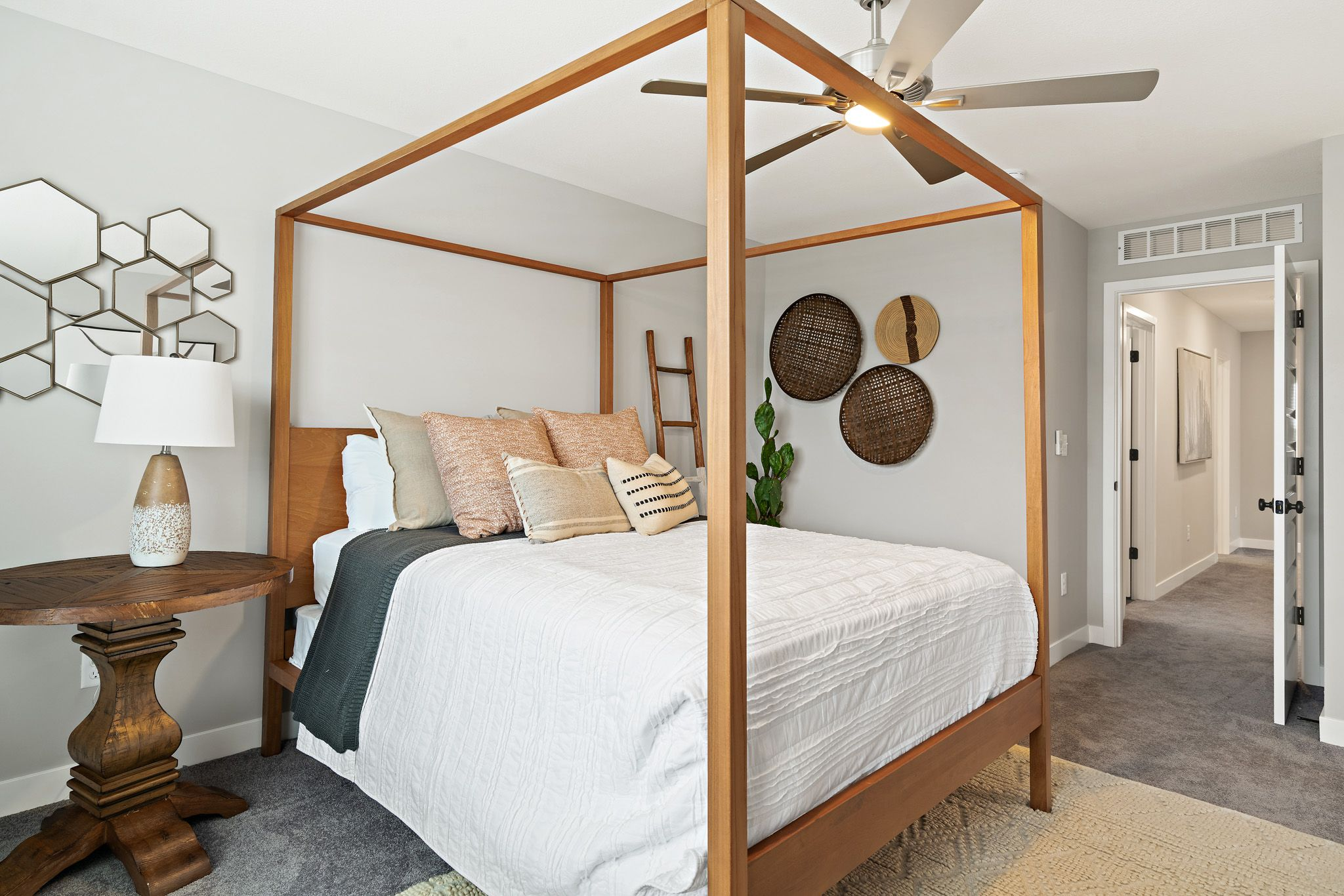 Bedroom featured in the honeydew By clover & hive in Kansas City, MO