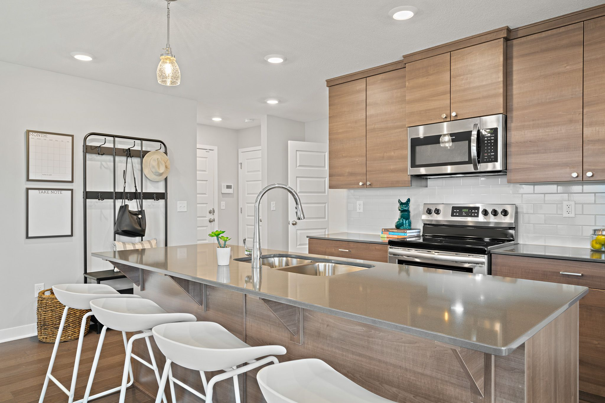 Kitchen featured in the sienna By clover & hive in Des Moines, IA