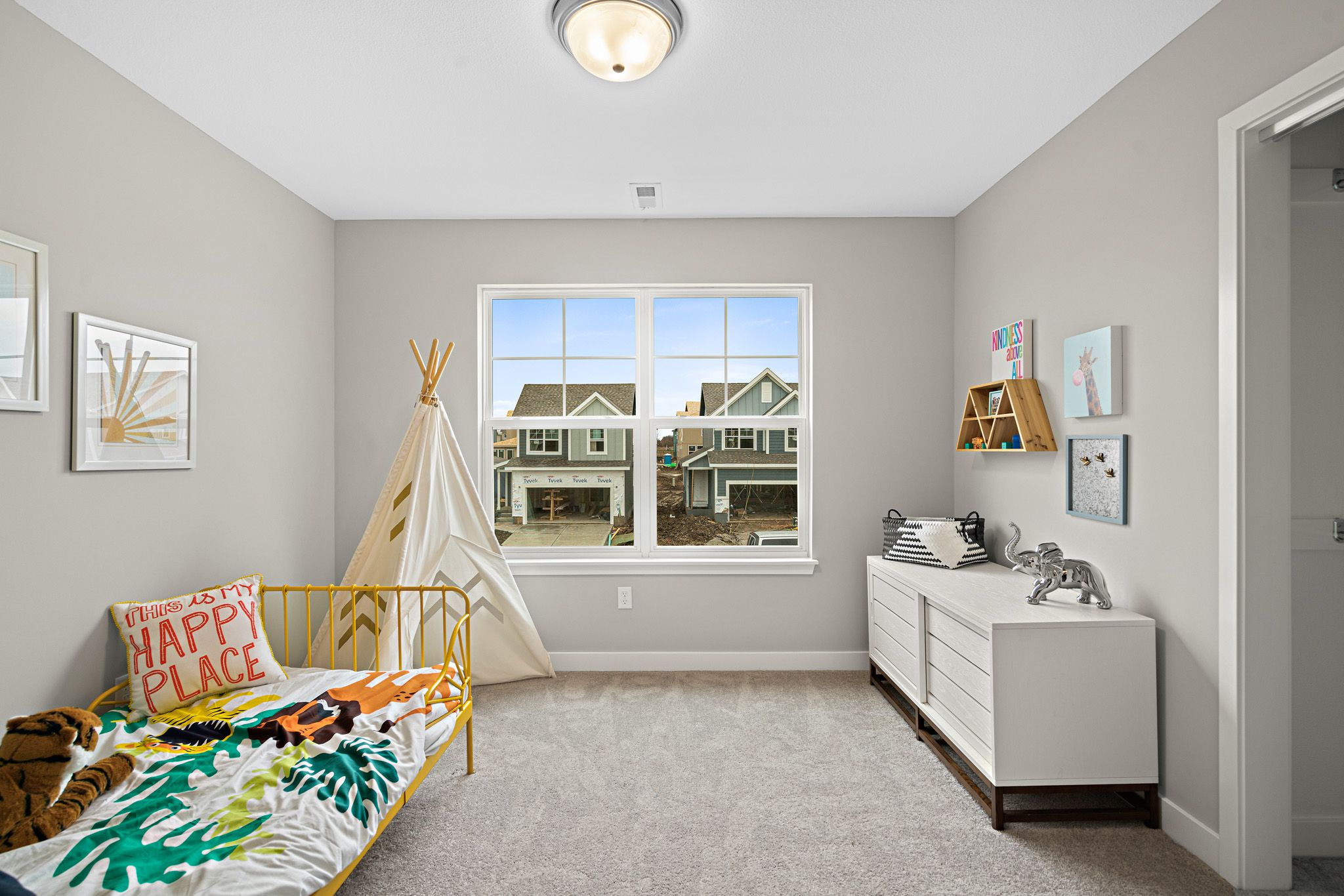 Bedroom featured in the sienna By clover & hive in Des Moines, IA