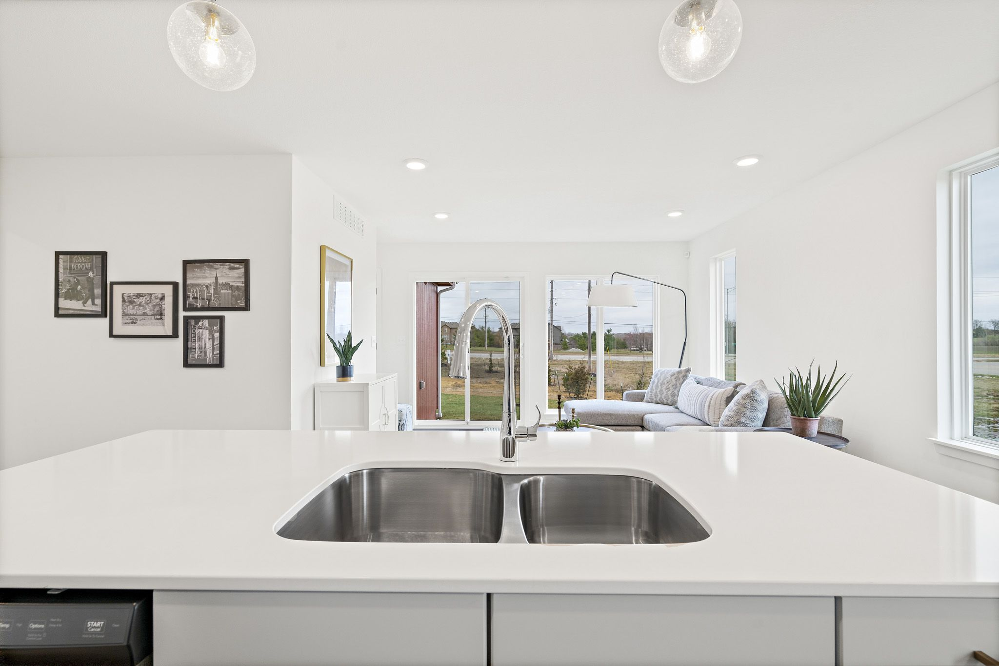 Kitchen featured in the sapphire By clover & hive in Kansas City, MO