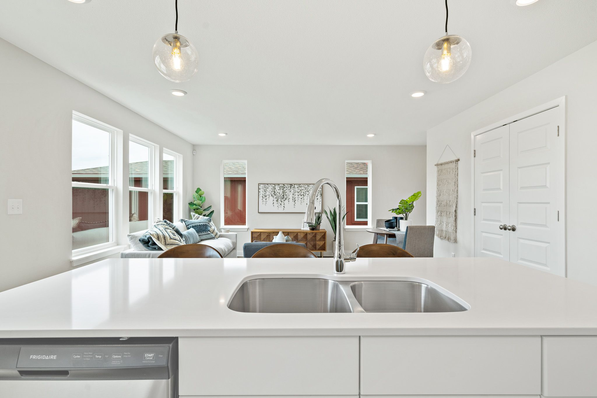 Kitchen featured in the indigo By clover & hive in Des Moines, IA