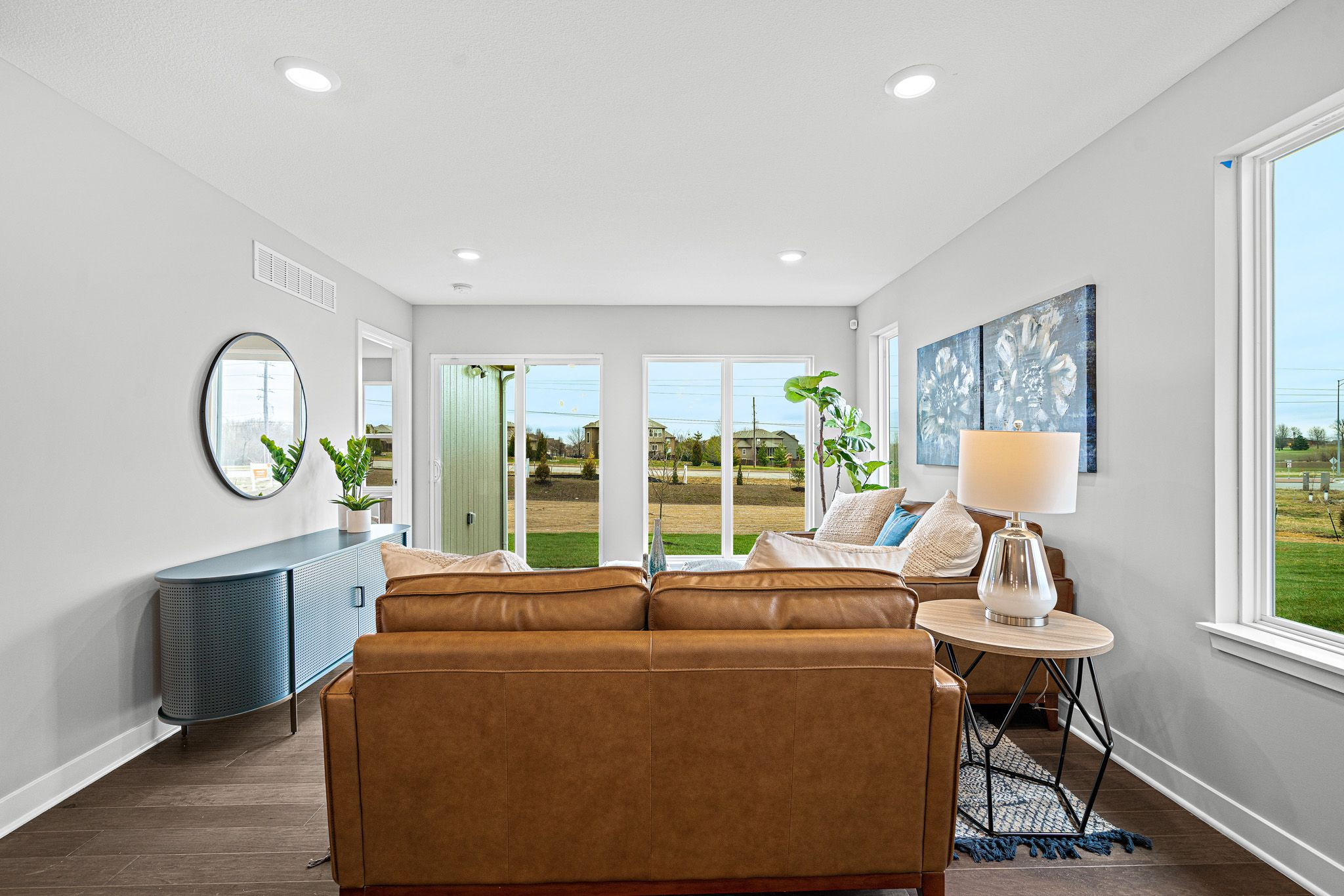 Living Area featured in the sienna-contemporary By clover & hive in Kansas City, MO