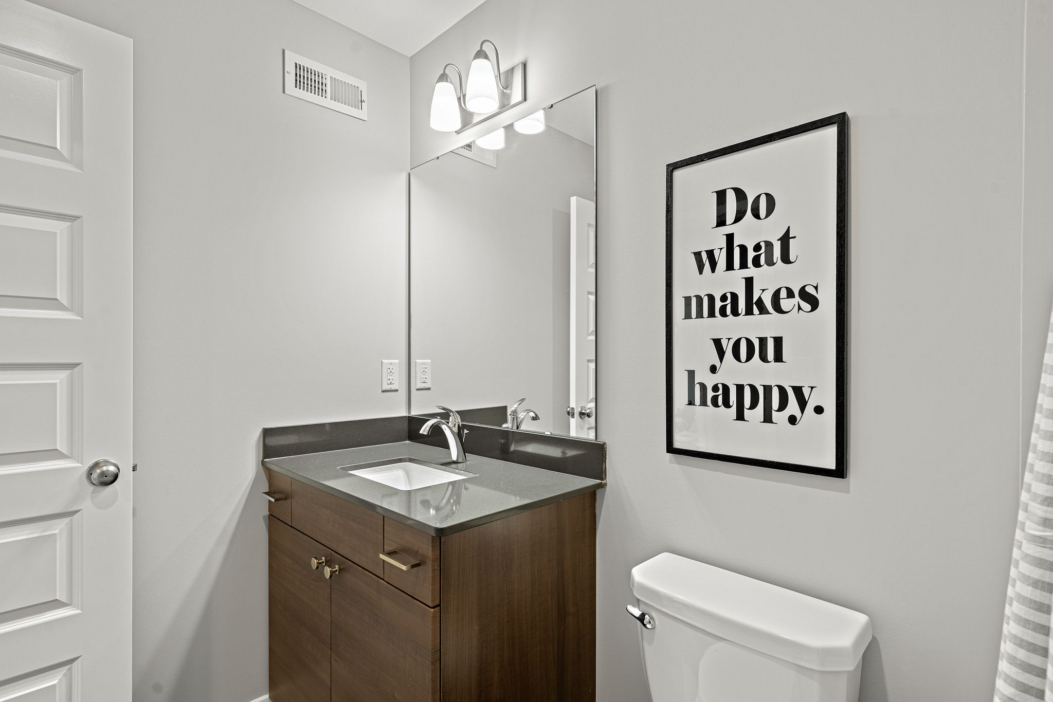 Bathroom featured in the sienna-contemporary By clover & hive in Kansas City, MO
