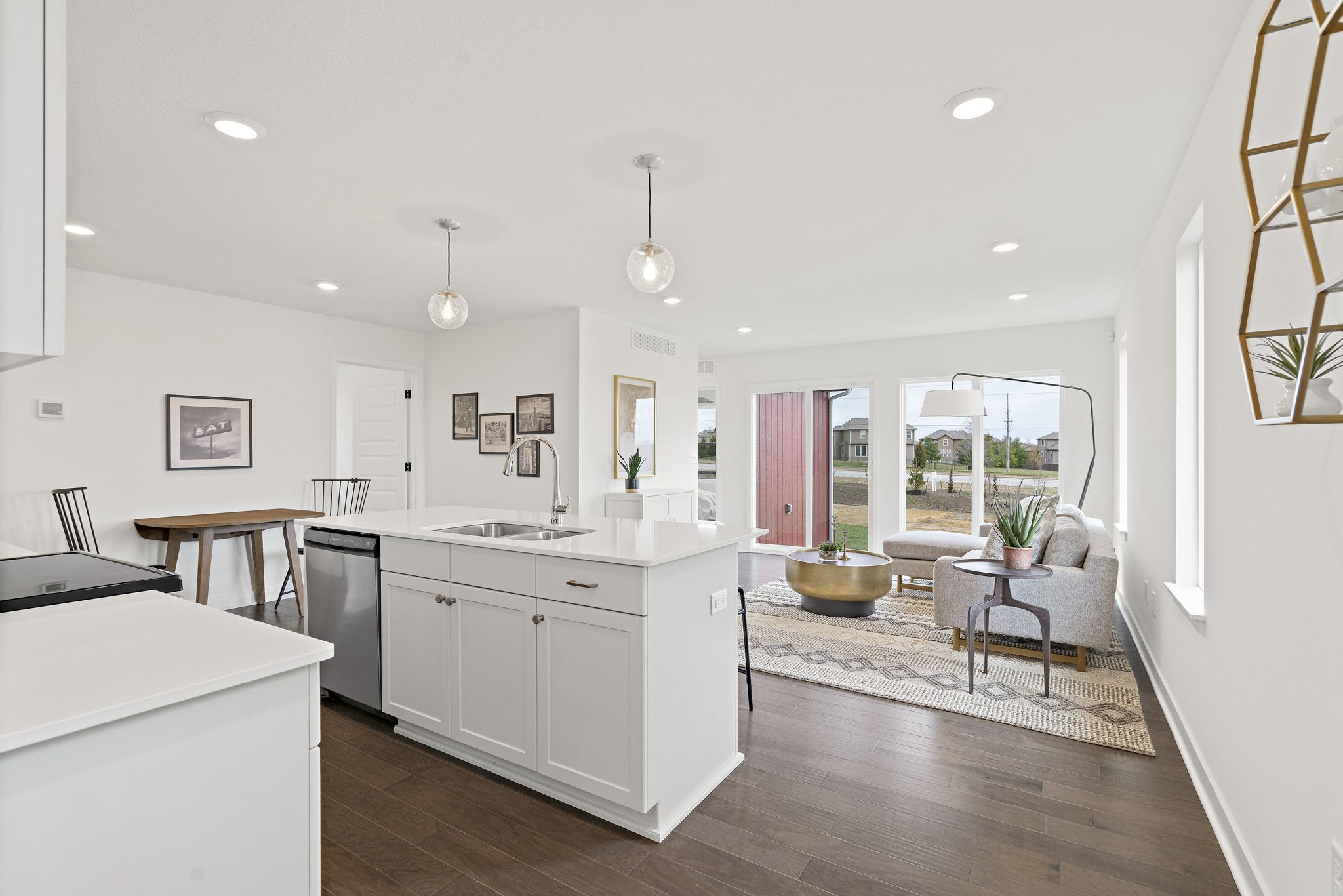 Kitchen featured in the sapphire - contemporary By clover & hive in Kansas City, MO