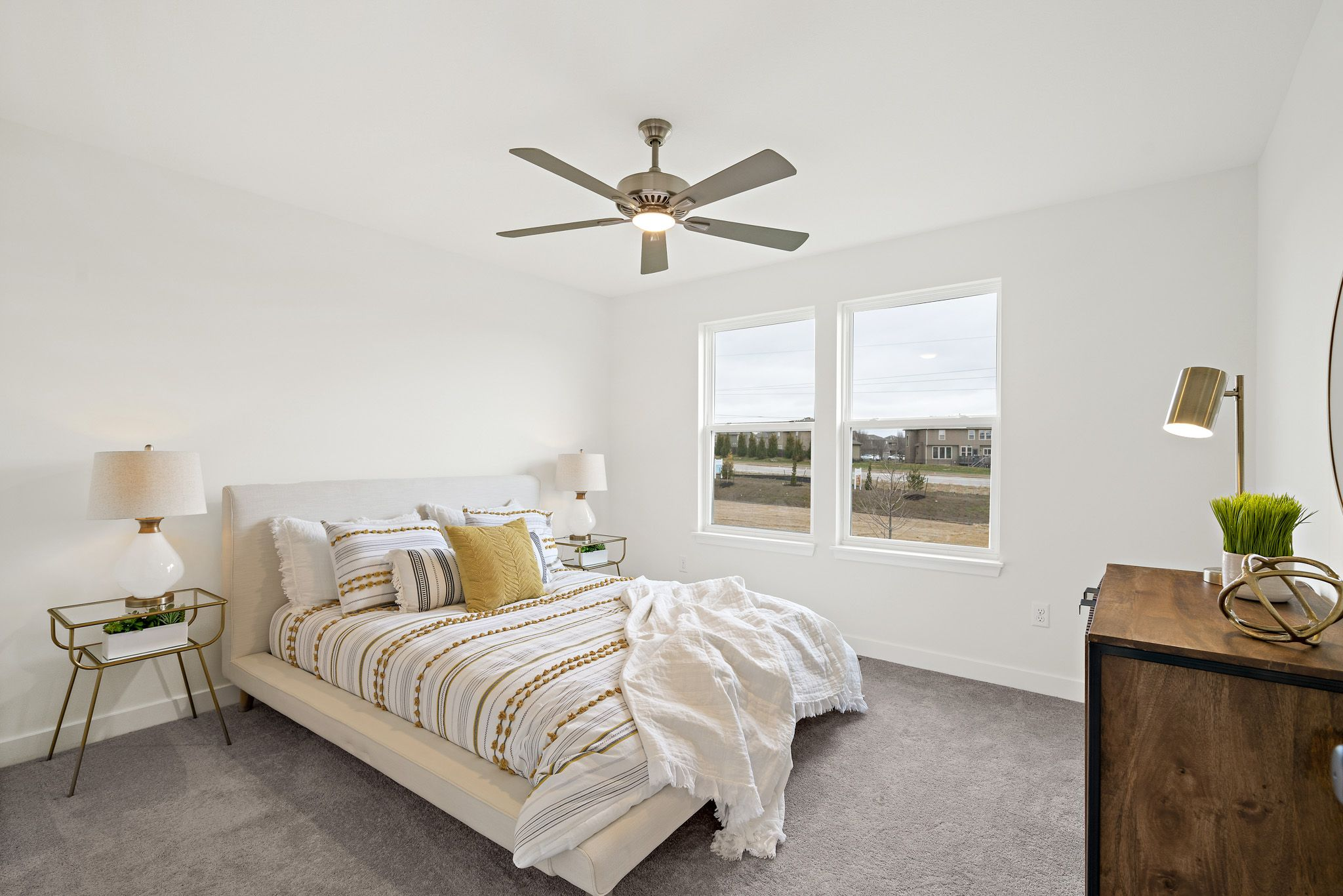 Bedroom featured in the sapphire - contemporary By clover & hive in Kansas City, MO