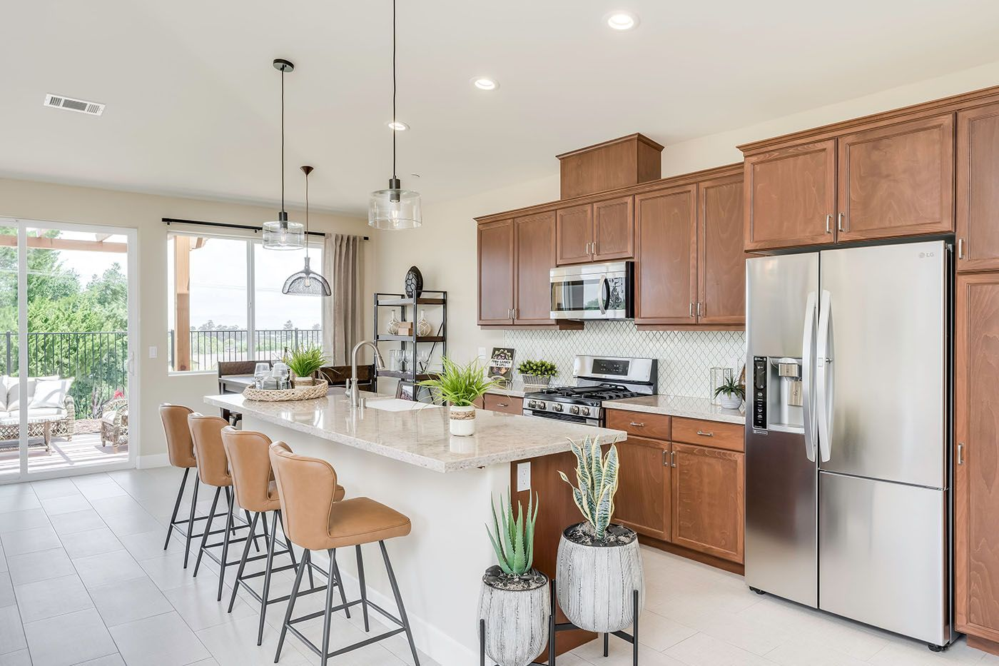 Kitchen featured in the Willowglen By Coastal Community Builders in Santa Barbara, CA