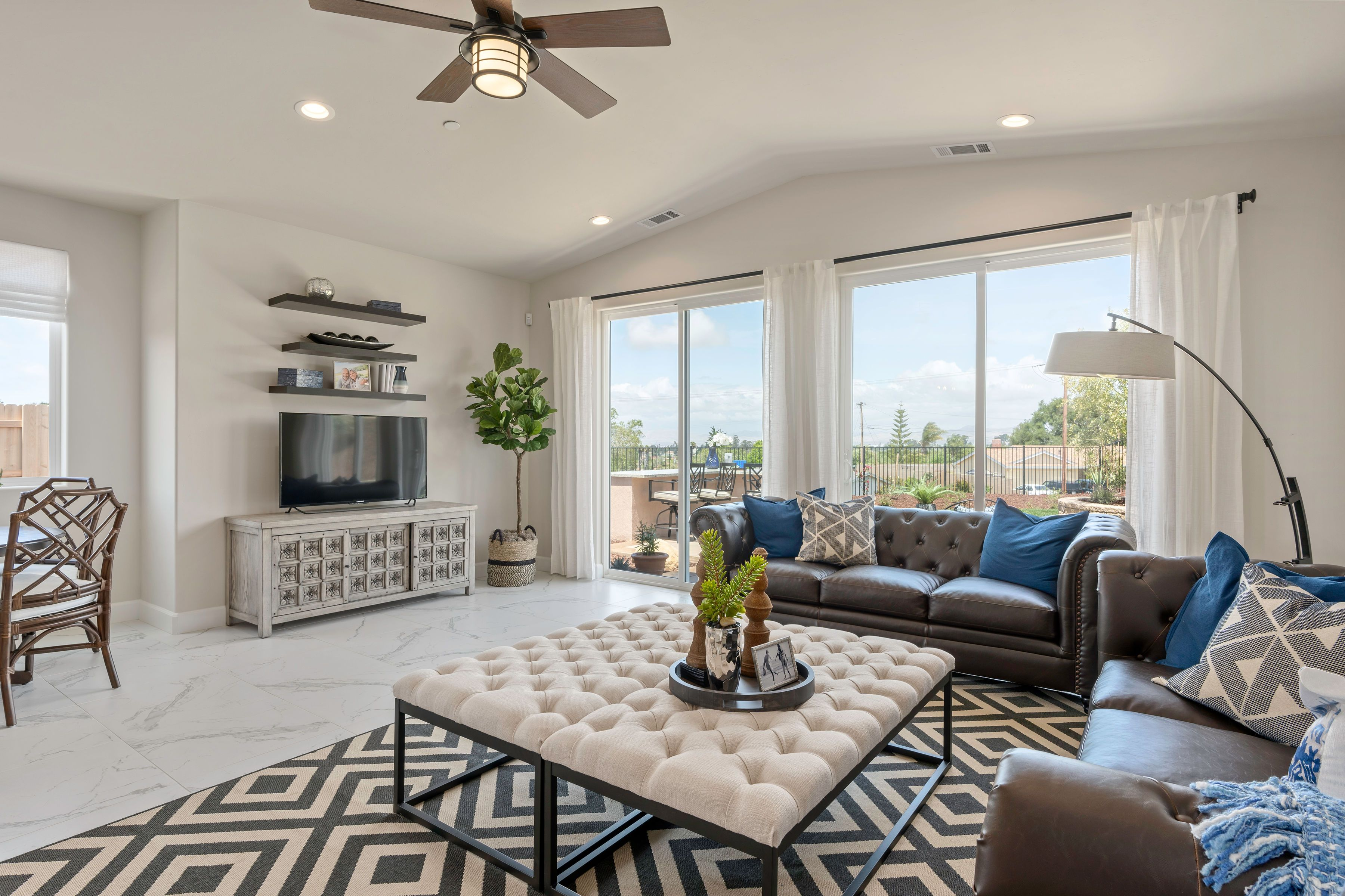 Living Area featured in the Hillsboro By Coastal Community Builders in Santa Barbara, CA