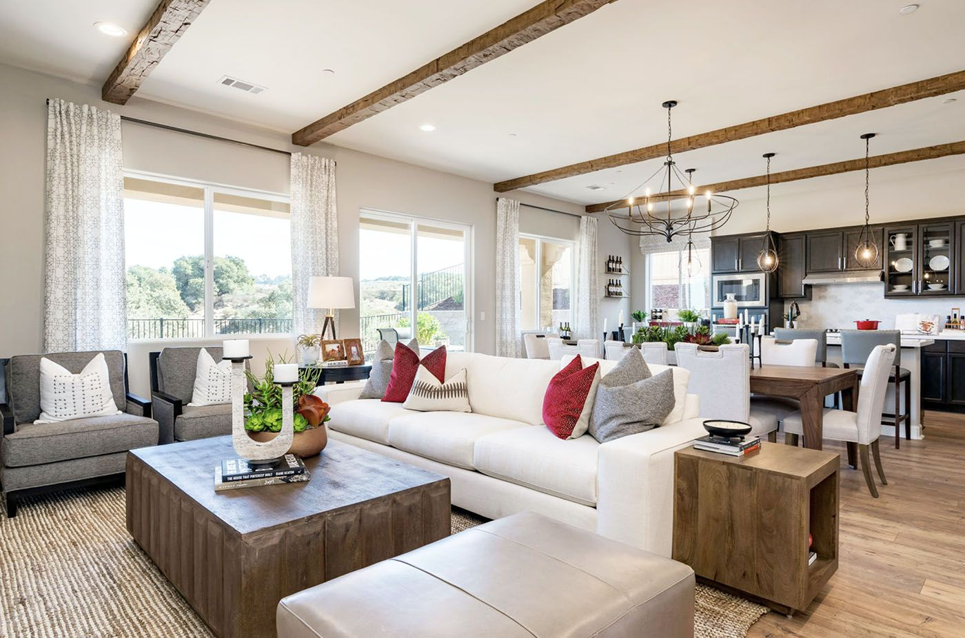 Living Area featured in the Ashford By Coastal Community Builders in Santa Barbara, CA