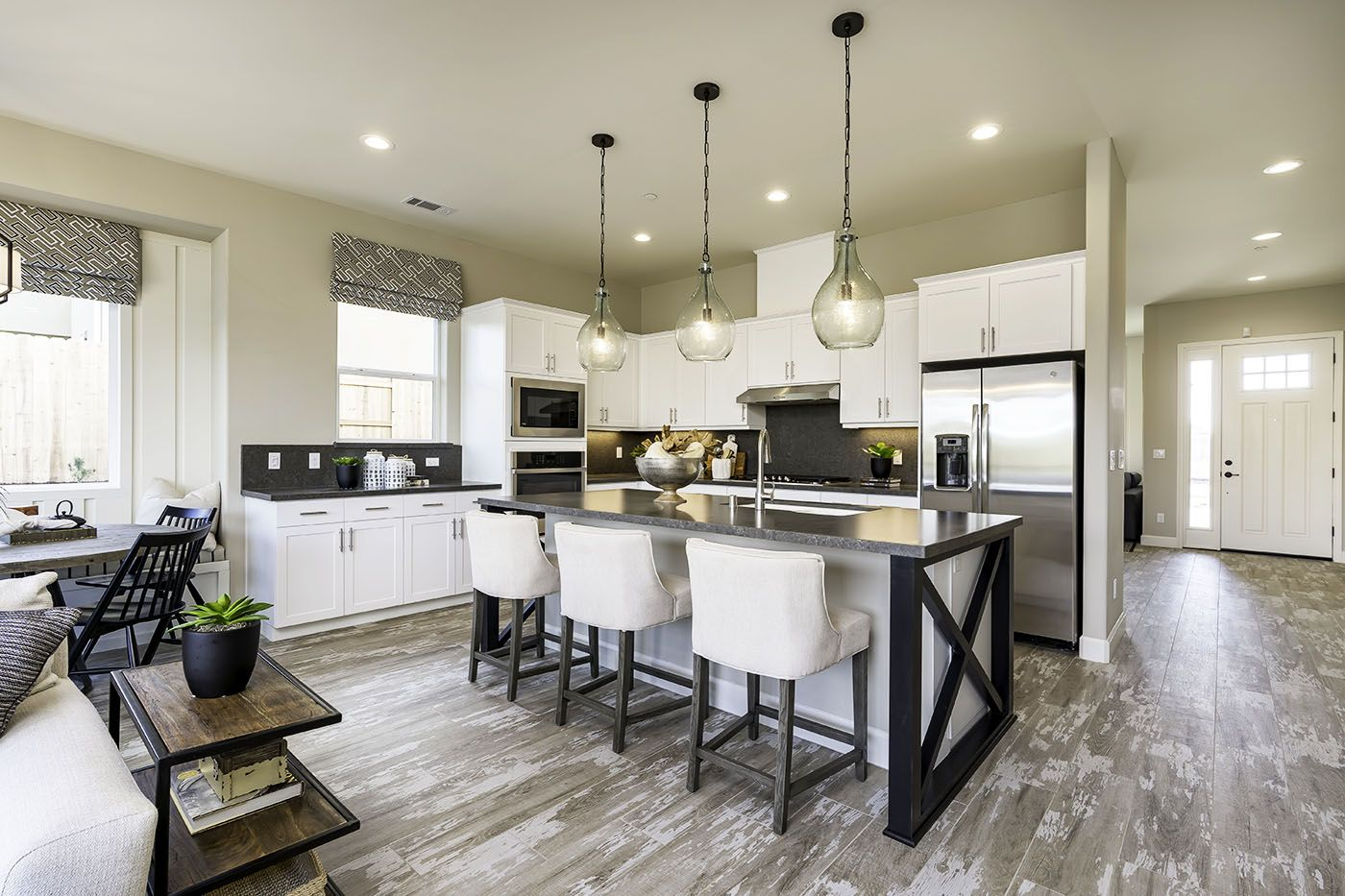 Kitchen featured in the Devonshire By Coastal Community Builders in Santa Barbara, CA
