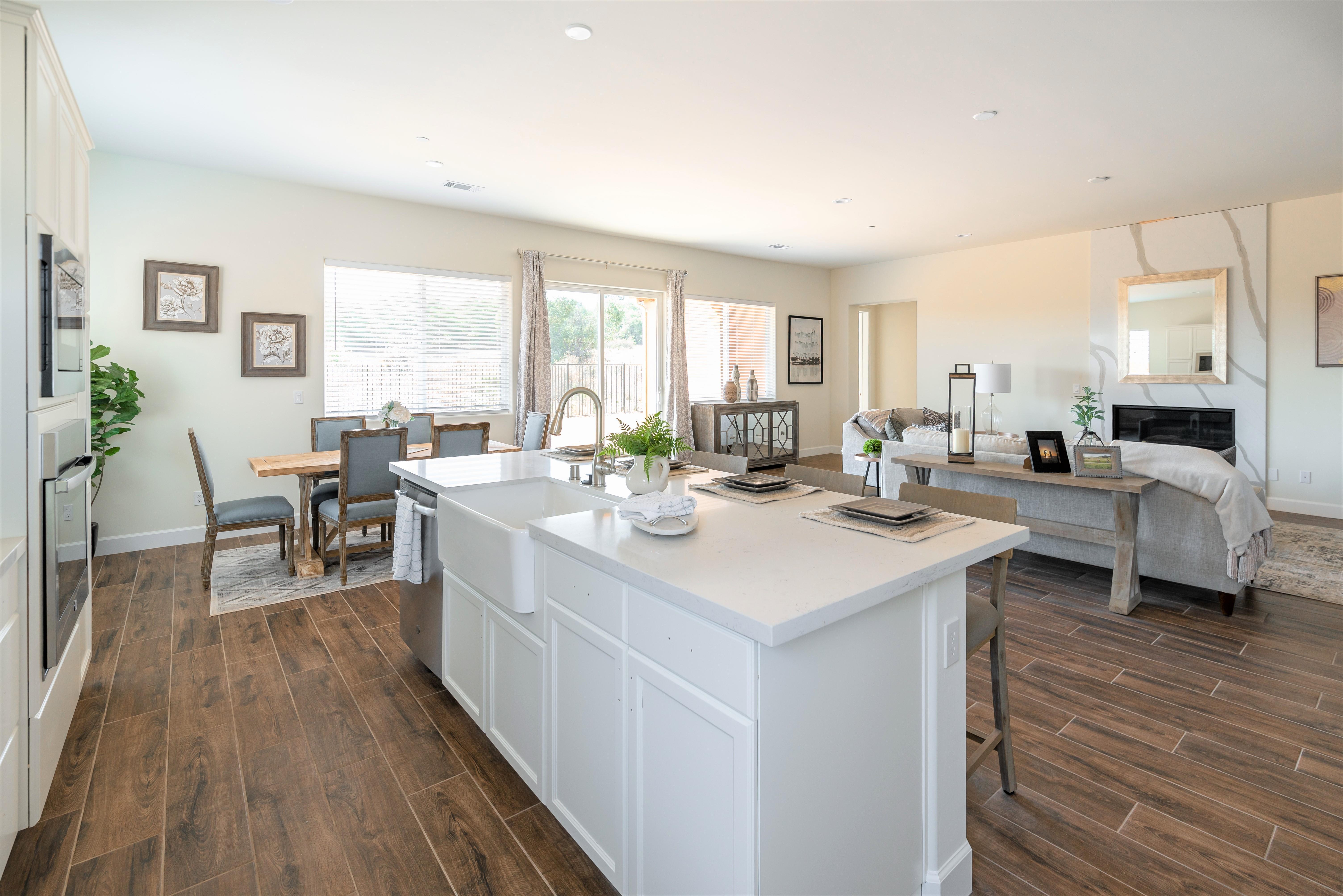Living Area featured in the Cambridge By Coastal Community Builders in Santa Barbara, CA
