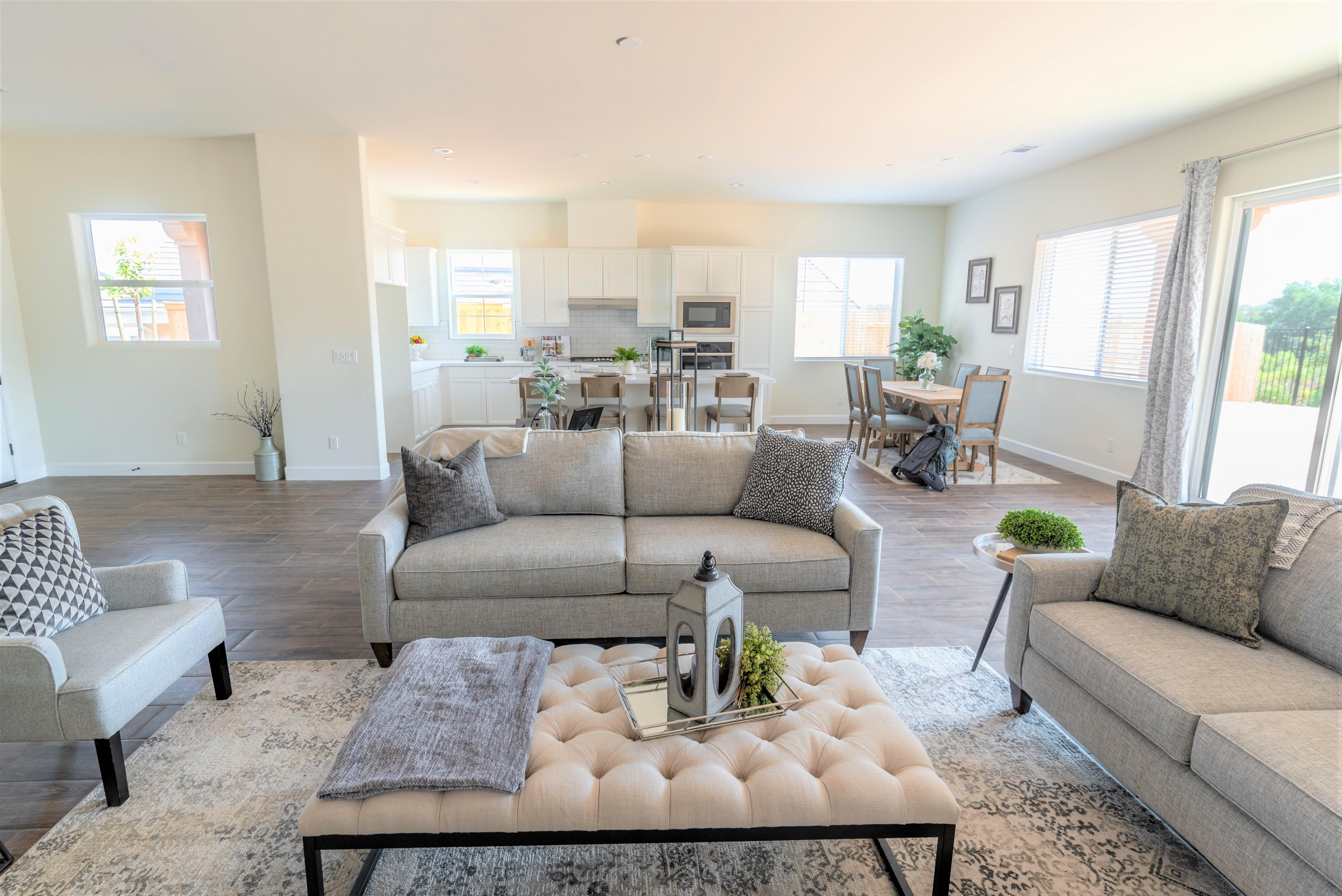 Living Area featured in the Cambridge By Coastal Community Builders in Santa Barbara, CA