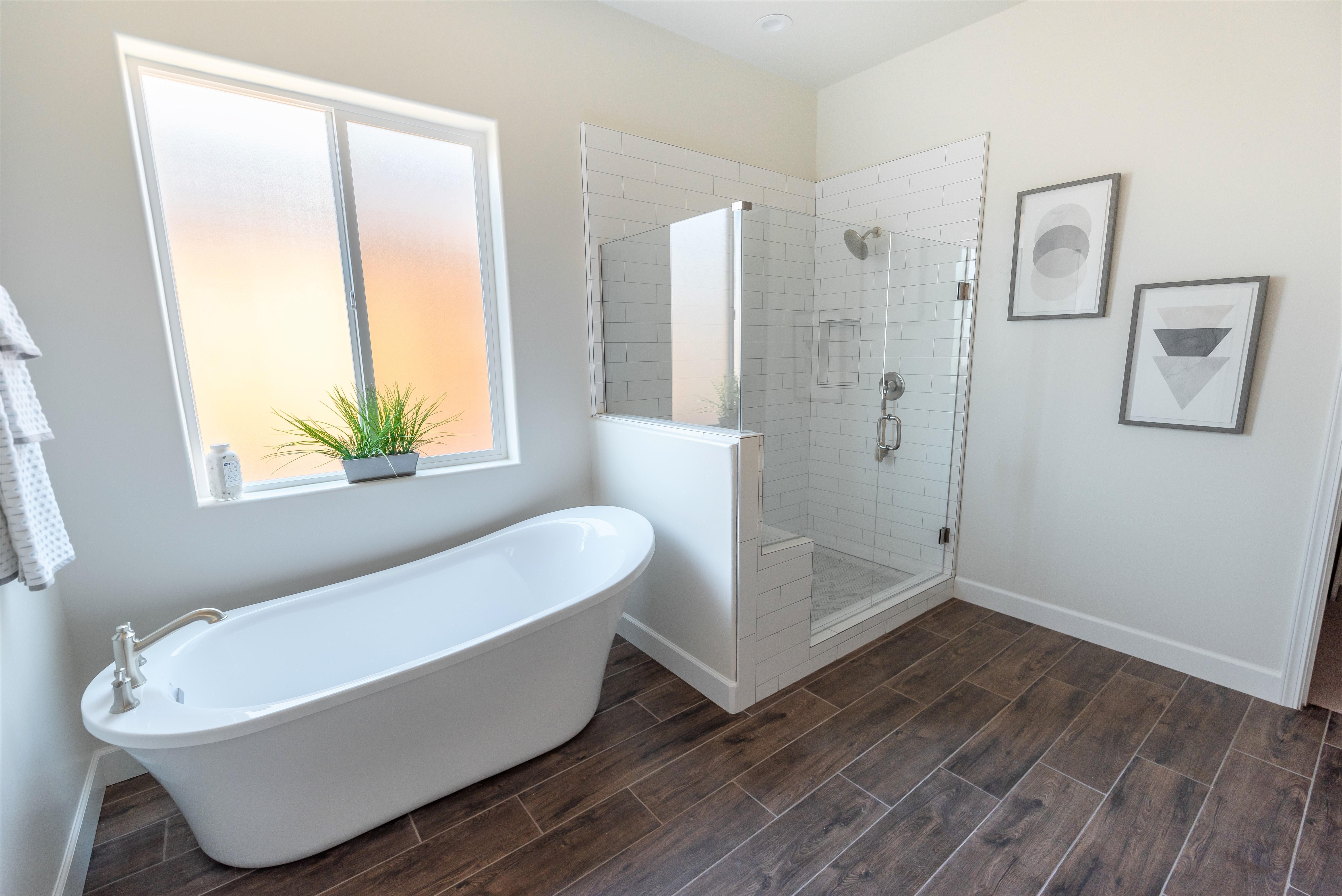 Bathroom featured in the Cambridge By Coastal Community Builders in Santa Barbara, CA