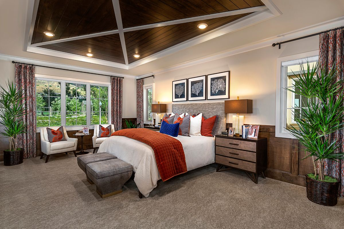 Bedroom featured in the Residence One By KB Home in Orange County, CA