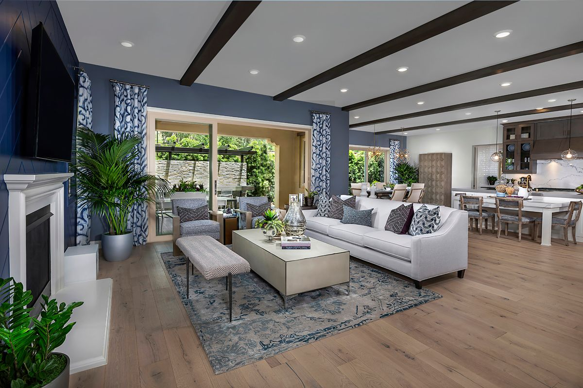 Living Area featured in the Residence Two By KB Home in Orange County, CA