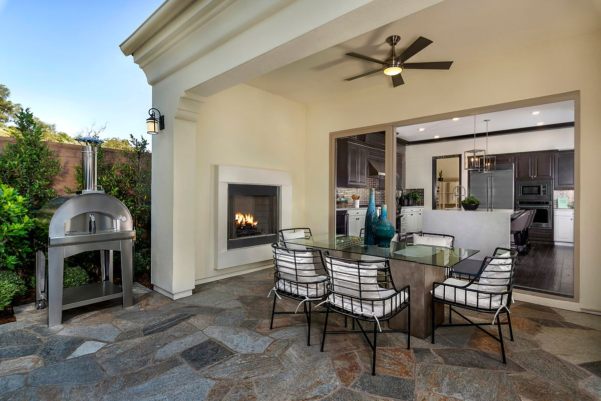 Exterior featured in the Residence Three By KB Home in Orange County, CA