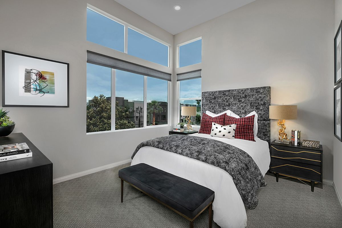 Bedroom featured in the Residence Five By KB Home in Orange County, CA