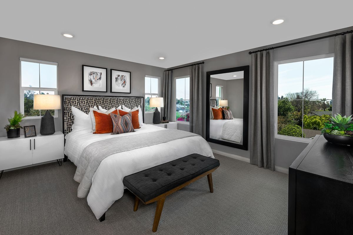 Bedroom featured in the Plan 1863 Modeled By KB Home in Orange County, CA