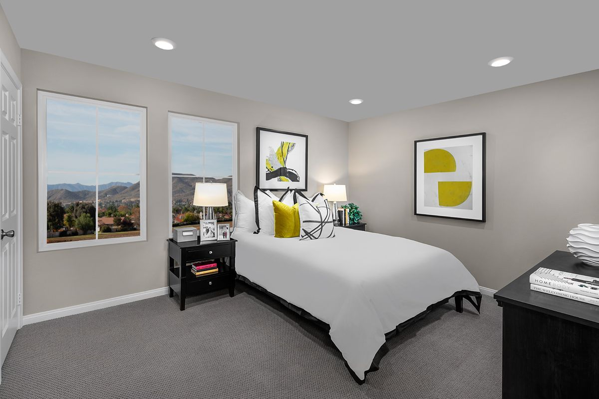Bedroom featured in the Plan 1541 Modeled By KB Home in Orange County, CA