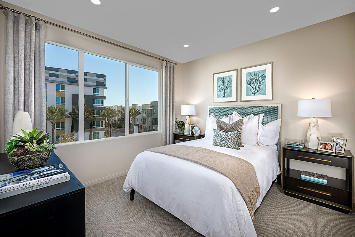 Bedroom featured in the Residence Four By KB Home in Orange County, CA