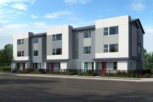 Plan 1562 - Townhomes at Lacy Crossing: Santa Ana, California - KB Home