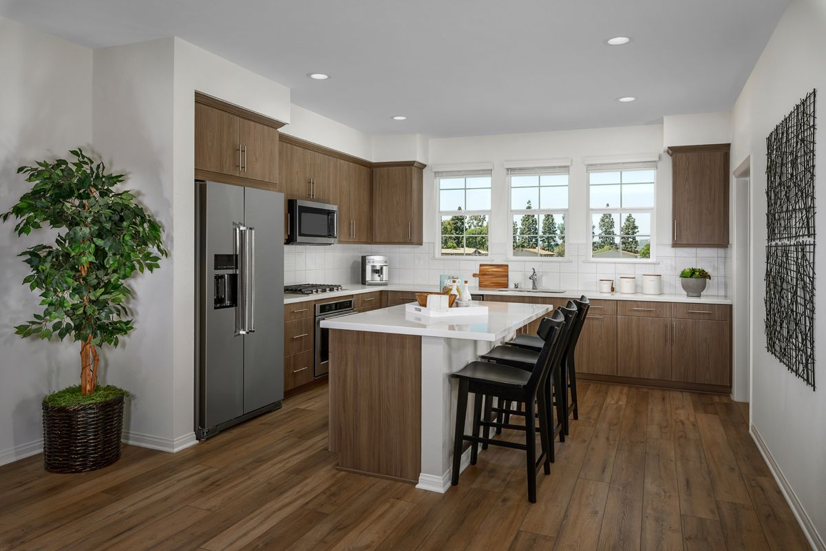 Kitchen featured in the Plan 1778 Modeled By KB Home in Orange County, CA