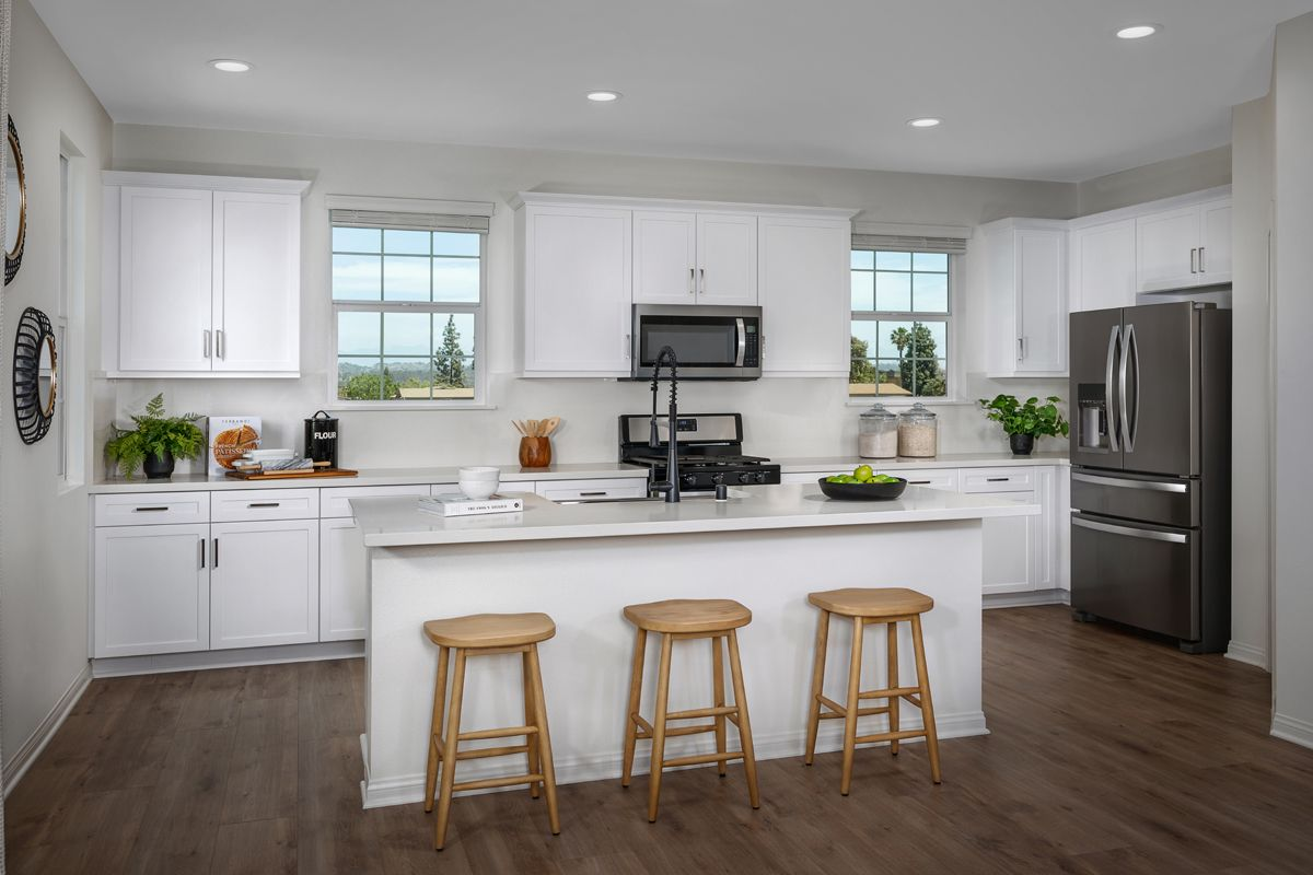 Kitchen featured in the Plan 1844 Modeled By KB Home in Orange County, CA