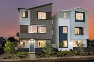 Plan 2082 Modeled - Row Homes at Lacy Crossing: Santa Ana, California - KB Home