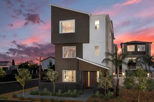 Plan 2456 Modeled - Row Homes at Lacy Crossing: Santa Ana, California - KB Home